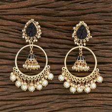 103111 Indo Western Jhumkis With Gold Plating