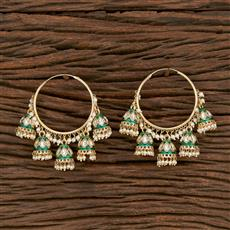 103176 Indo Western Balis With Gold Plating