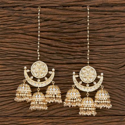 103205 Indo Western Jhumkis With Gold Plating