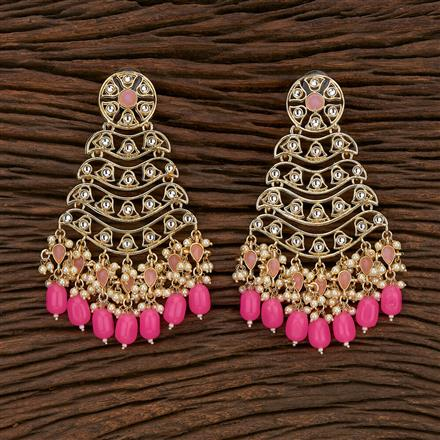 103256 Indo Western Classic Earring With Gold Plating