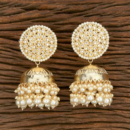 103586 Indo Western Jhumkis With Gold Plating