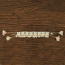 104039 Indo Western Trendy Bracelet With Gold Plating