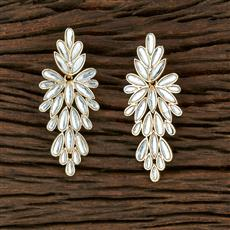 104043 Indo Western Trendy Earring With Gold Plating