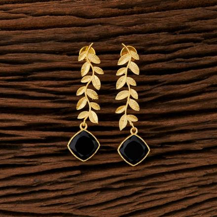 104178 Indo Western Trendy Earring With Gold Plating