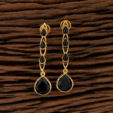 104179 Indo Western Classic Earring With Gold Plating