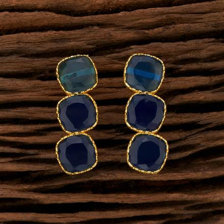 104180 Indo Western Classic Earring With Gold Plating