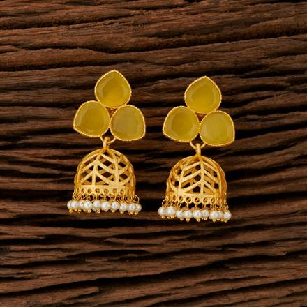104193 Indo Western Jhumkis With Gold Plating