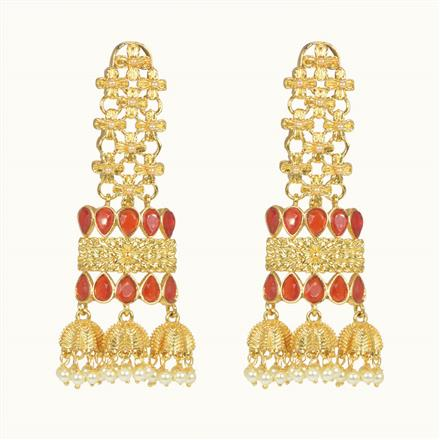 10471 Antique Classic Earring with gold plating