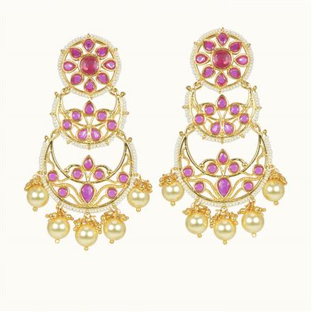 10475 Antique Classic Earring with gold plating
