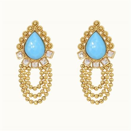 10491 Antique Tops with gold plating