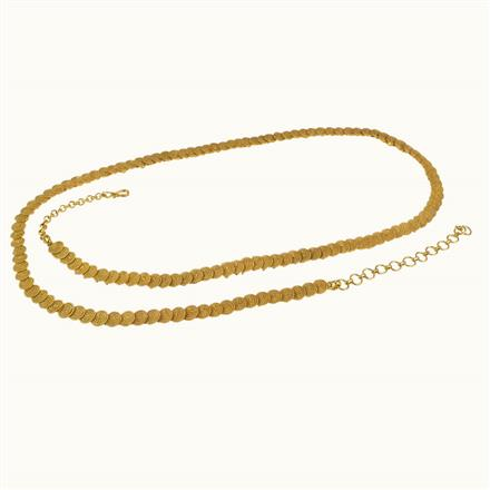 10597 Antique Delicate Belt with gold plating
