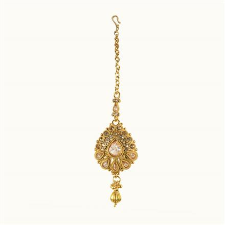 10632 Antique Classic Tikka with gold plating