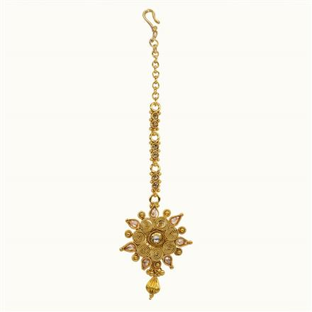 10674 Antique Classic Tikka with gold plating