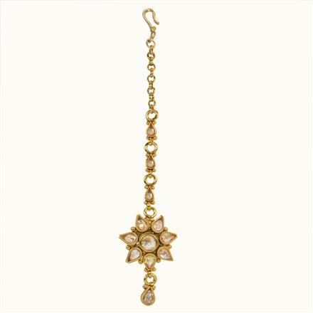 10676 Antique Delicate Tikka with gold plating