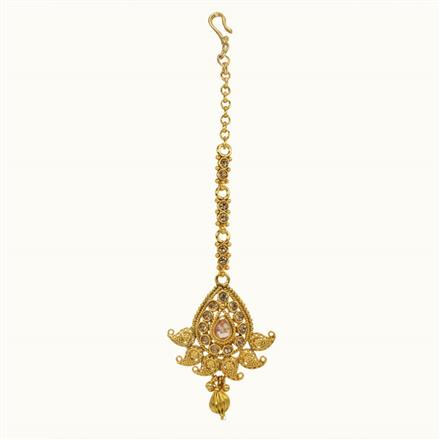10677 Antique Classic Tikka with gold plating
