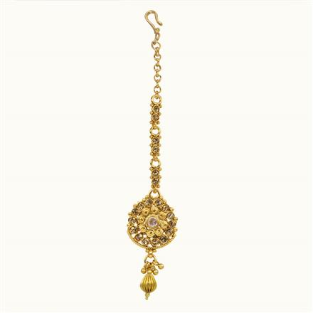 10678 Antique Delicate Tikka with gold plating