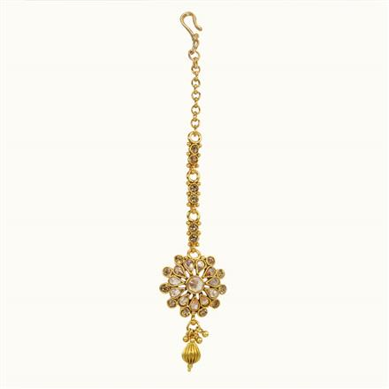 10679 Antique Delicate Tikka with gold plating