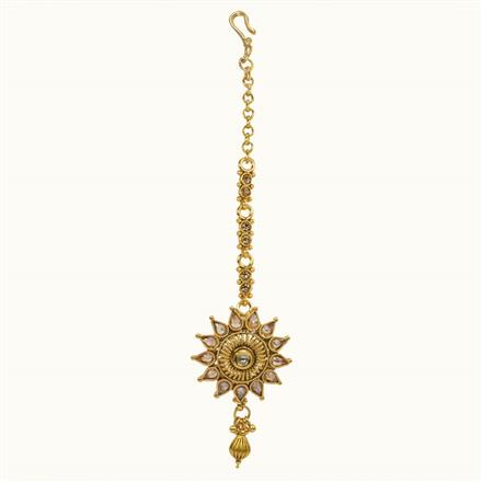 10681 Antique Classic Tikka with gold plating