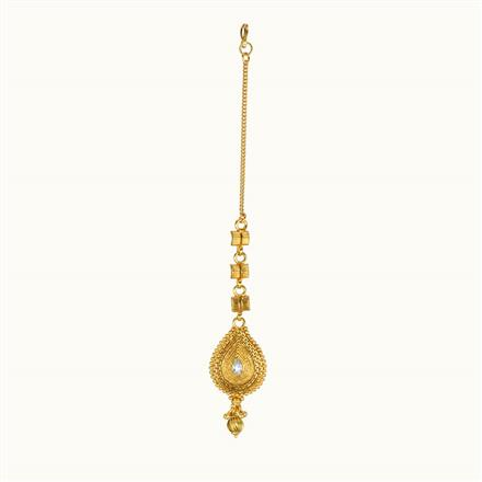 10791 Antique Classic Tikka with gold plating