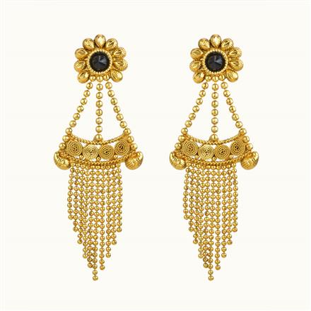 10846 Antique Classic Earring with gold plating