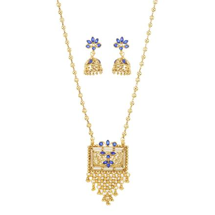 10887 Antique Classic Pendant Set with gold plating