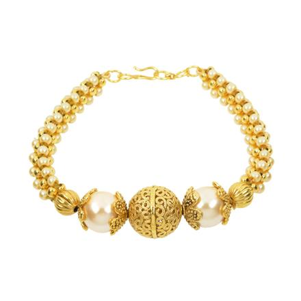 10942 Antique Delicate Bracelet with gold plating