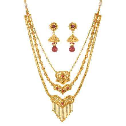 10958 Antique Classic Necklace with gold plating