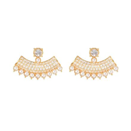 11078 Antique Classic Earring with gold plating