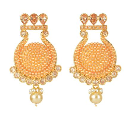 11080 Antique Classic Earring with gold plating