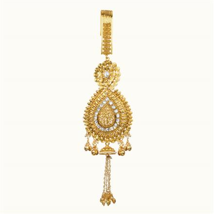 11118 Antique Classic Jhuda with gold plating