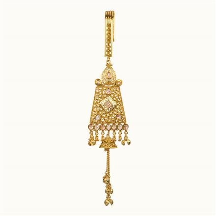 11120 Antique Classic Jhuda with gold plating