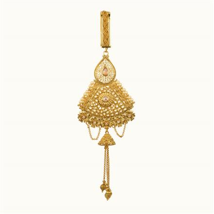 11121 Antique Classic Jhuda with gold plating