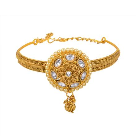 11128 Antique Classic Baju Band with gold plating