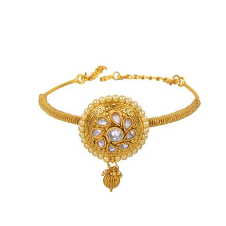 11130 Antique Classic Baju Band with gold plating