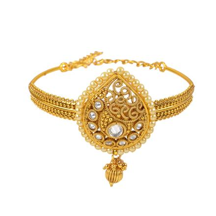 11132 Antique Classic Baju Band with gold plating