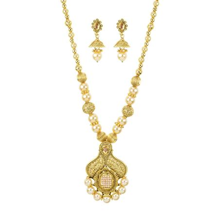 11184 Antique Classic Pendant Set with gold plating
