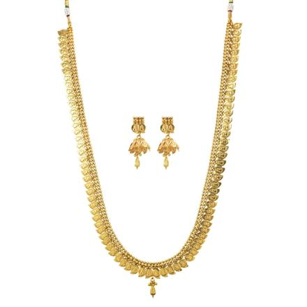 11194 Antique Temple Necklace with gold plating