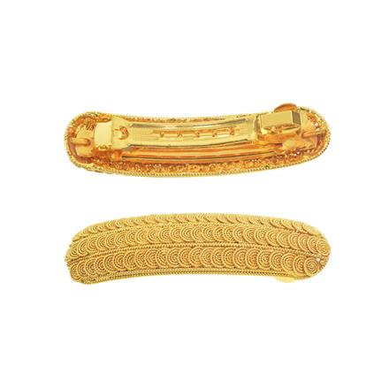 11260 Antique Classic Hair Clip with gold plating