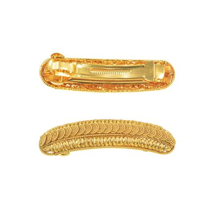 11261 Antique Classic Hair Clip with gold plating