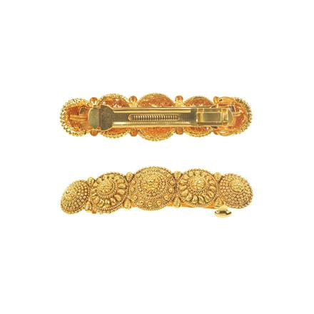 11262 Antique Classic Hair Clip with gold plating
