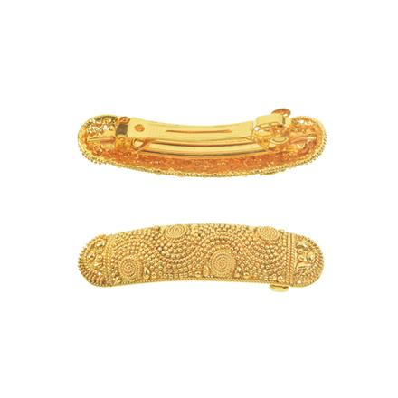 11267 Antique Classic Hair Clip with gold plating