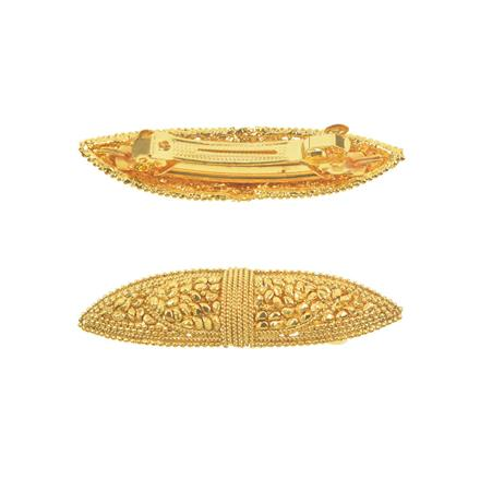 11269 Antique Classic Hair Clip with gold plating