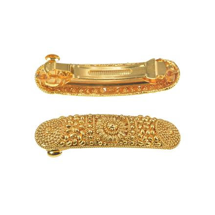 11270 Antique Classic Hair Clip with gold plating