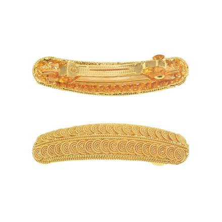 11271 Antique Classic Hair Clip with gold plating