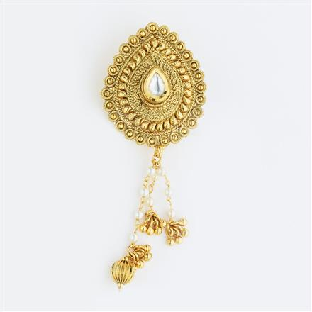 11365 Antique Classic Hair Brooch with gold plating