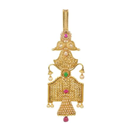 11462 Antique Classic Jhuda with gold plating