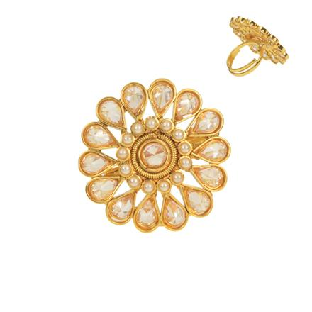 11515 Antique Classic Ring with gold plating