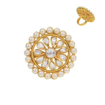 11517 Antique Classic Ring with gold plating