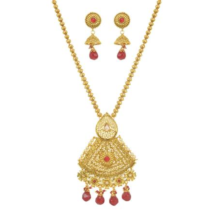 11533 Antique Classic Pendant Set with gold plating