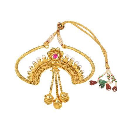 11564 Antique Classic Baju Band with gold plating